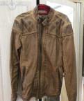Кожаная куртка, белая толстовка gap, Зеленогорск