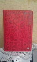 Чехол для iPad mini красный с тиснением, Санкт-Петербург
