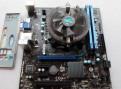 1155 / H61M-E23 + i5-2320(4x3300) + Кулер