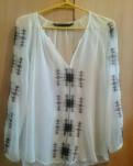 Красивое трикотажное платье с длинным рукавом, блузка zara women