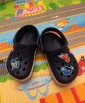 Сандали crocs, размер-6 c 7(23-24)