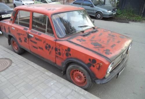 Газ на японские авто, вАЗ 2101, 1987