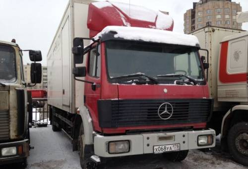 Водитель грузовика(BC)