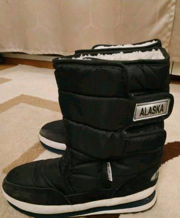 Сапоги Alaska зимние мужские, интернет магазин обуви тамарис
