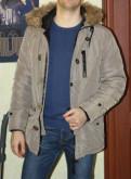 Куртка парка Mango, футболка navi поло
