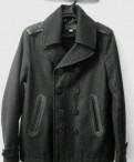 Мужская зимняя шапка под пальто, diesel новый бушлат полупальто L