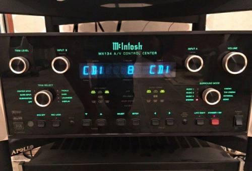 Mcintosh MX 134 A/V Control Center
