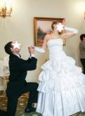 Свадебное платье, платье для беременных заказ, Старая