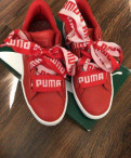 Puma basket heard Кеды оригинал, купить кеды vans раскрашенные