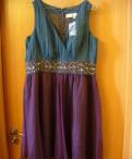 Платье Newport News, жилетка мех песец