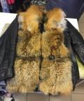 Платья для полных женщин maria, куртка с мехом лисы