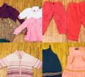 Большой пакет одежды для девочки р.74-86(1-2года)