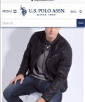 Короткие пальто мужские, куртка новая U.S.Polo assn