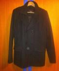 Мужская кожаная куртка с мехом чернобурки, пальто zara man, Санкт-Петербург