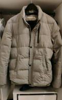 Джинсовая куртка на молнии мужская, пуховик Calvin Klein