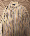 Куртка мужская осенняя утепленная 54-56, рубашка Polo by Ralph Lauren