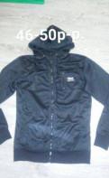 Кофта, кожаная куртка на меху с капюшоном мужская, Кировск