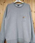 Свитшот Carhartt Pocket Sweat, g-star raw джинсовые куртки мужские, Новая Ладога