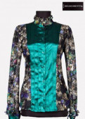 Блузка Rinascimento (Италия), шуба из норки модель шанель