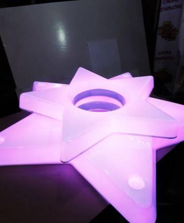 Подставка для шоколадного фонтана. Звезда