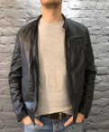 Мужская одежда дресс код, куртка из мягкой кожи
