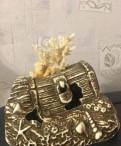 Керамические предметы аквариумного декора