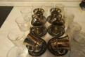 Кружки хрустальные, стаканы IKEA, Павлово