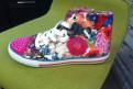 Новые красивые кеды -primigi, женские высокие ботинки на шнуровке без каблука купить, Подпорожье