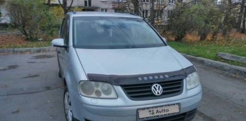 Volkswagen Touran, 2003, купить бу тойота левин