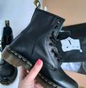 Женские зимние ботинки на овчине, ботинки Dr. Martens 1460 Nappa Англия