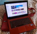 Lenovo ноутбук красный
