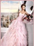 Платья в пол с завышенной талией, платье цвета розовой пудры, Первомайское