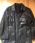 Кожаная куртка, куртка найк синяя