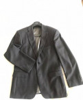 Оригинальный пиджак Boss, Italy, костюм олдос зимний