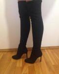 Ботфорты Mango, туфли на высоком каблуке 36 размер, Приладожский