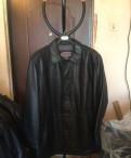 Куртка кожаная Romanoff, мужская одежда massimo dutti