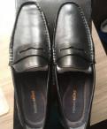 Заказать зимнюю мужскую обувь, мокасины новые Thomas Munz