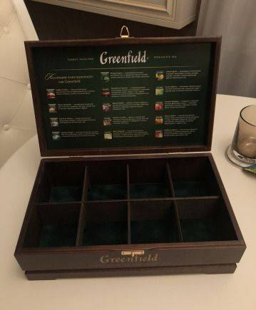 Коробка деревянная для чая