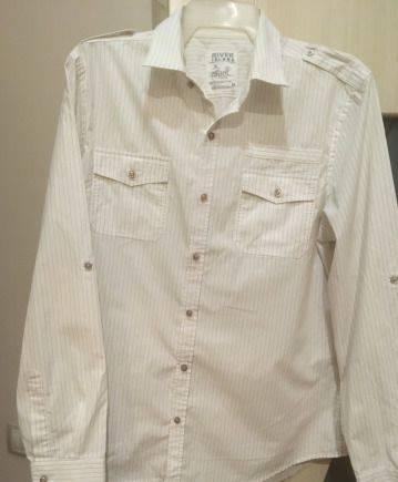 Рубашка новая мужская River Island, майки с принтами эксклюзив