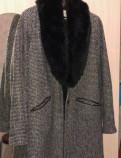 Классические мужские брюки с защипами, пальто Bershka