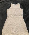 Платье бежевое H&M, турецкая фирма женской одежды dzyn, Новое Девяткино