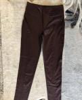 Спортивный костюм с флисом женский купить, эластичные брюки шоколад XS Concept