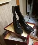 Обувь нубук купить, полусапожки Chester кожа