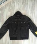 Кожаная куртка новая, мужская одежда кетрой