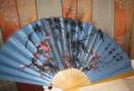 Веер, ручная роспись, 90*150 см