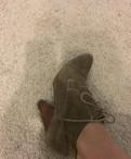 Basconi обувь ботильоны, замшевые полуботинки