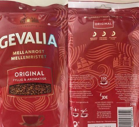 Кофе Gevalia Original