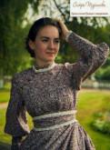 Платье свободного покроя турция, платье в русском стиле от сестер Тургиновых