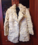 Куртка с очками в капюшоне cp company, шуба из кролика