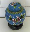 Китайская ваза перегородчатой эмали (Клуазоне ), Санкт-Петербург